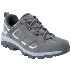 Jack Wolfskin Vojo 3 Texapore Scarpe Basse Donna, tarmac grey/light blue